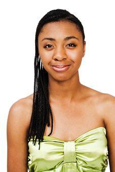 Happy Teenage Girl Posing Royalty Free Stock Photography