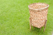 Free Basket Bin Royalty Free Stock Photo - 19182665