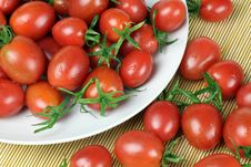 Free Small Tomatoes Royalty Free Stock Image - 19183056