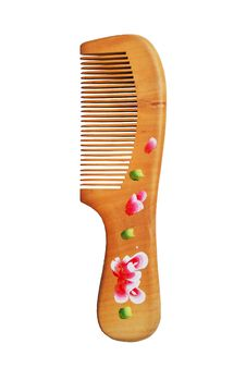 Free Wooden Comb Royalty Free Stock Images - 19184009