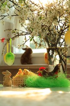 Free Easter Decoration Stock Images - 19185034