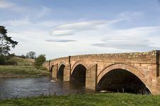 Free English Sandstone Arched Bridge. Stock Photos - 19185423