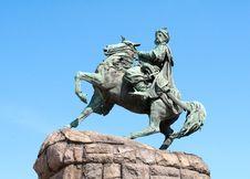 Free Monument Of Bogdan Khmelnitsky In Kiev Royalty Free Stock Photography - 19185577