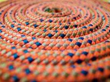 Free Abstract Climbing Rope With Selective Focus Royalty Free Stock Photo - 19185665