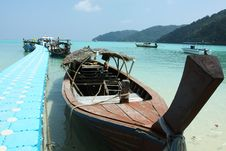 Free Thai Boat Royalty Free Stock Image - 19185826