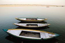 Wooden Boats Stock Images