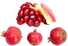Free Pomegranate Royalty Free Stock Photography - 19186097