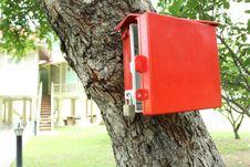 Free Red Mailbox Stock Photo - 19186160