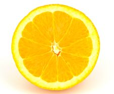 Free Closeup Orange Fruit Royalty Free Stock Photography - 19186497