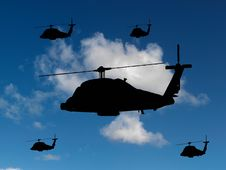 Free Helicopters Stock Images - 19186974