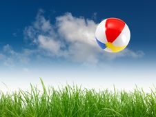 Free Beach Ball Royalty Free Stock Images - 19186989