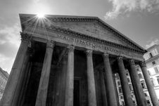 Free The Pantheon Royalty Free Stock Images - 19187089