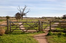 Free Field Gate Stock Image - 19187171