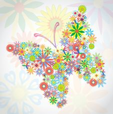 Free Colorful Dream Butterfly Stock Photo - 19187410