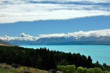 Free Lake Pukaki Stock Photos - 19188863