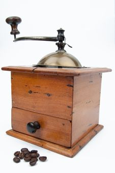 Free Coffee Mill Royalty Free Stock Photo - 19189335