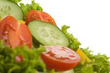 Free Healthy Salad Royalty Free Stock Photo - 19189755
