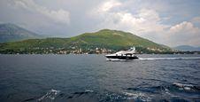 Free Speedboat In Kotor Bay (Montenegro) Royalty Free Stock Photos - 19189898