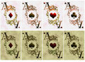 Free Two Variants Of Card Aces Stock Photos - 19190193