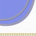 Free White-blue Background With Stitch Stock Photos - 19192303