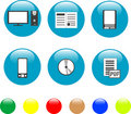 Free Home Electronics And Equipment Icons Stock Images - 19197214