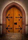 Free Old Castle Doorway Royalty Free Stock Photos - 19198808