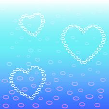 Free Heart Bubbles Stock Photo - 19190060
