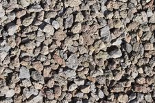 Lava Gravel Stock Image