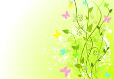 Free Spring In Green Royalty Free Stock Image - 19191636