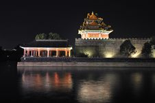 Free China Beijing Forbidden City Gate Tower Stock Photos - 19191833