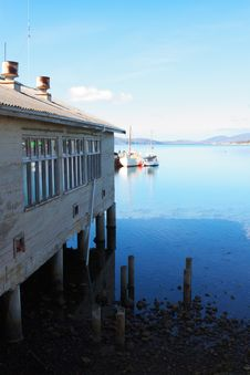 Boat House Royalty Free Stock Images