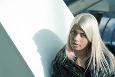 Free Beautiful Young Blonde Royalty Free Stock Photography - 19192627