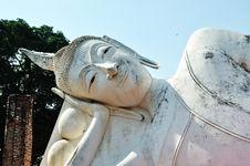 Free Reclining Buddha Stock Images - 19192934