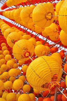 Free Yellow Lanterns Stock Images - 19193074