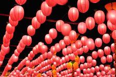 Free Red Lanterns Stock Photo - 19193080