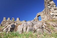 Free Castle Ruins Royalty Free Stock Photography - 19193807