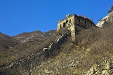 Free China Great Wall Royalty Free Stock Photo - 19193815