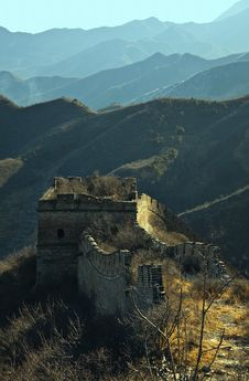 Free China Great Wall Royalty Free Stock Photography - 19193887