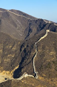 Free China Great Wall Royalty Free Stock Photography - 19193907
