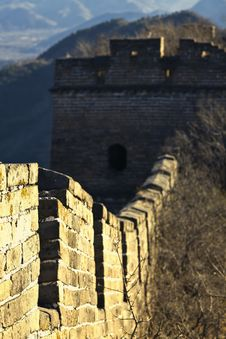 Free Great Wall Of China Royalty Free Stock Image - 19193926