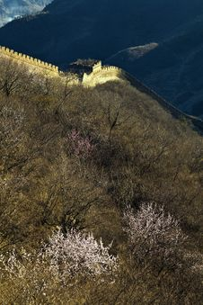 Free Great Wall Of China Royalty Free Stock Photos - 19193968
