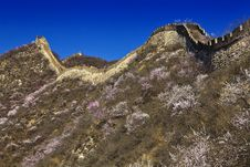 Free China Great Wall Royalty Free Stock Image - 19194016