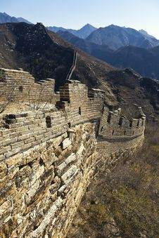 Free China Great Wall Royalty Free Stock Images - 19194059