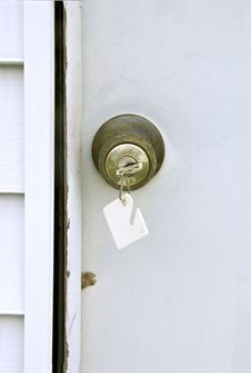 Free Door Knob And Lock Stock Photography - 19194642