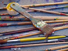 Many Brush Stock Photos