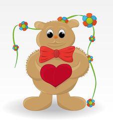 Free Joyful Bear Royalty Free Stock Image - 19195346