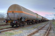 Free Oil And Fuel Transportation By Rail Royalty Free Stock Photo - 19195745
