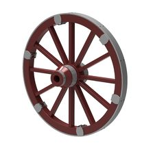 Free Wheel Royalty Free Stock Image - 19196406