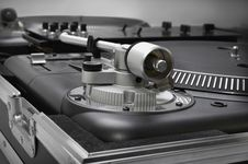 Turntables Royalty Free Stock Photo