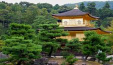 Free Kinkaku-ji Golden Temple Royalty Free Stock Photo - 19196755